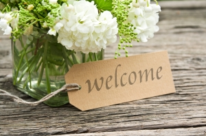 Welcome Message Pic