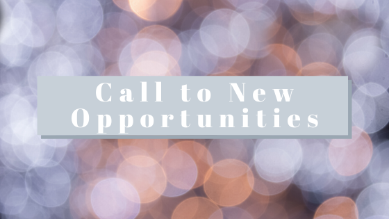 Call to new opportunities Breathe Ministry