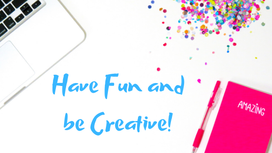 Have fun and be creative Breathe Minstry