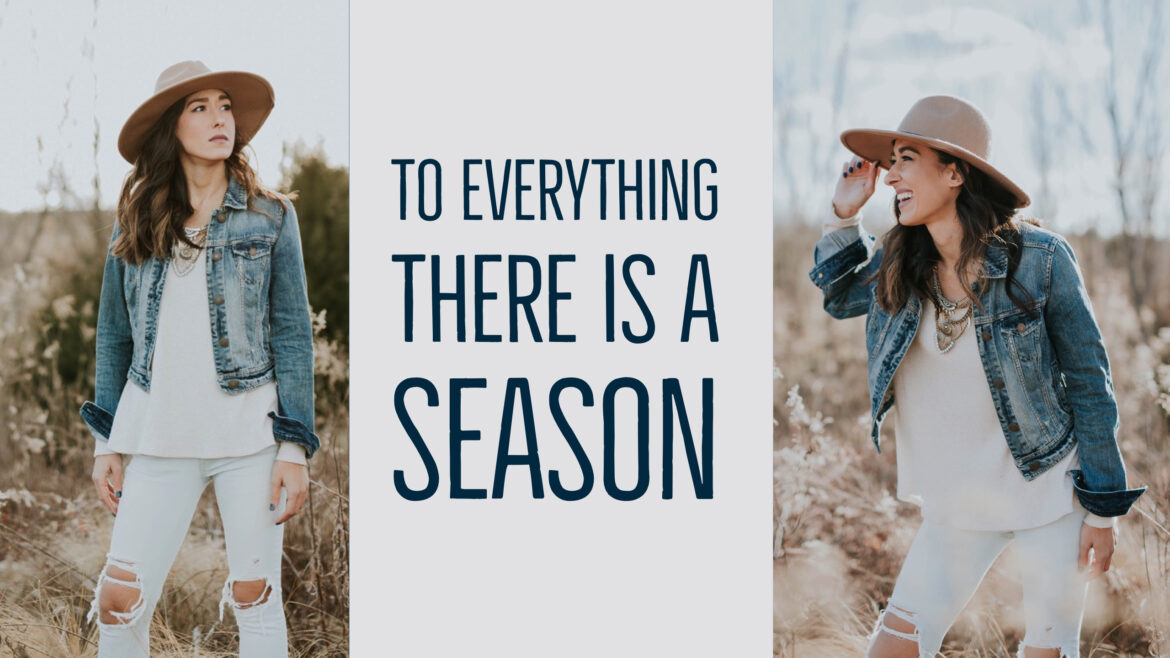 To Everything There is a Season Breathe Ministyry